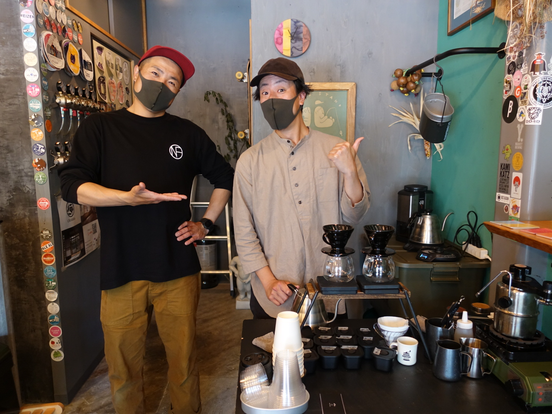 GARAGE COFFEE WORKS pop-up ありがとうございます!またやります^^